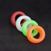 narrow 3/4 inch silicone ring