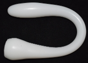 Model O - Flexible Extended Length Bat Style WHITE OPEN RTS